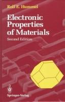 Download Electronic properties of materials