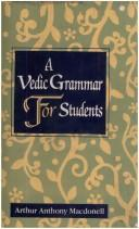 Download Vedic Grammar for Students