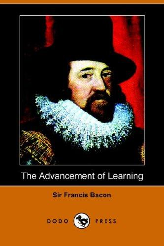 Download The Advancement of Learning