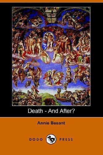Death – And After? (Dodo Press)
