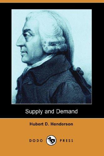 Download Supply and Demand (Dodo Press)