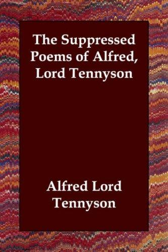 Download The Suppressed Poems of Alfred, Lord Tennyson