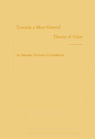 Towards a more general theory of value
