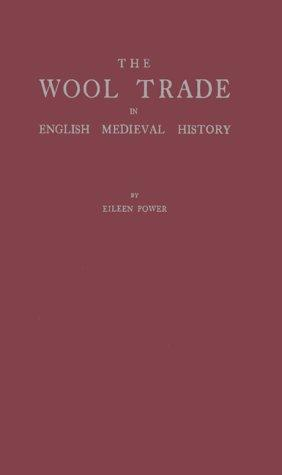 The wool trade in English medieval history
