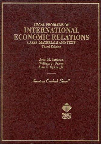 Download Legal problems of international economic relations