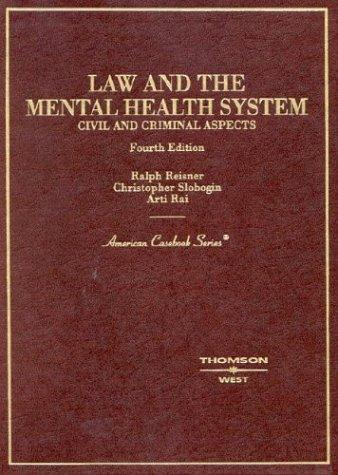 Download Law and the mental health system