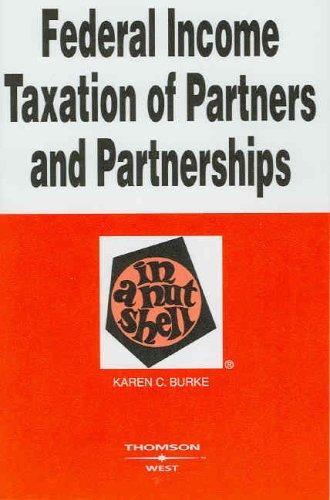 Download Federal income taxation of partners and partnerships in a nutshell