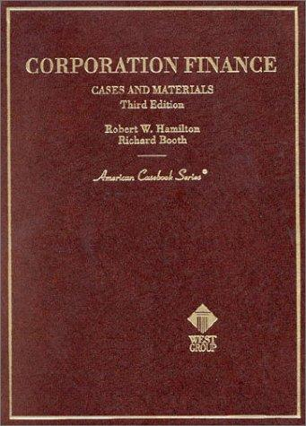Download Corporation finance