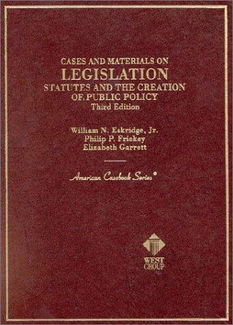 Download Cases and materials on legislation
