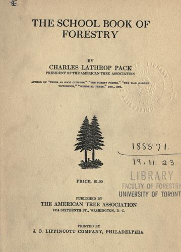 The School book of forestry.