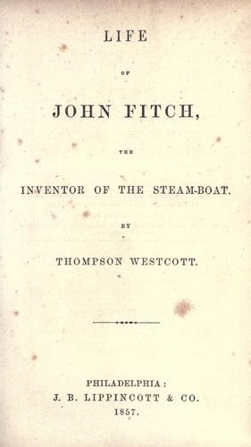 Download Life of John Fitch