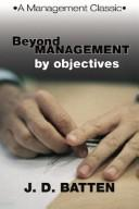 Download Beyond Management by Objectives