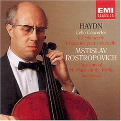Cello Concertos nos. 1 & 2 by Haydn ;   Mstislav Rostropovich ,   Academy of St. Martin in the Fields ,   Iona Brown
