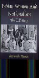 Indian Women and Nationalism by Visalakshi Monon