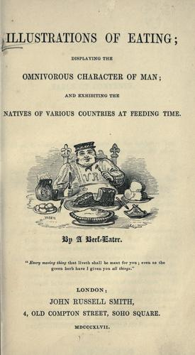 Illustrations of eating by Vasey, George.