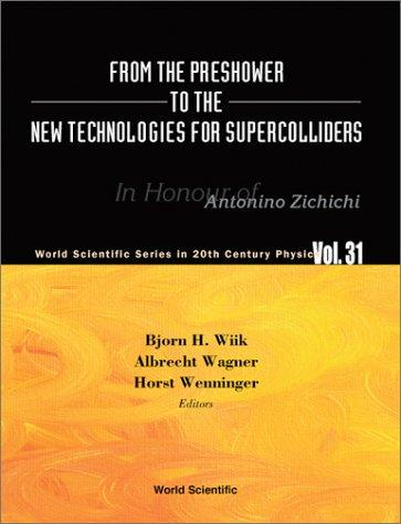 From the preshower to the new technologies for supercolliders by