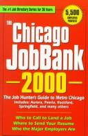 The Chicago JobBank, 2000 by Steven Graber